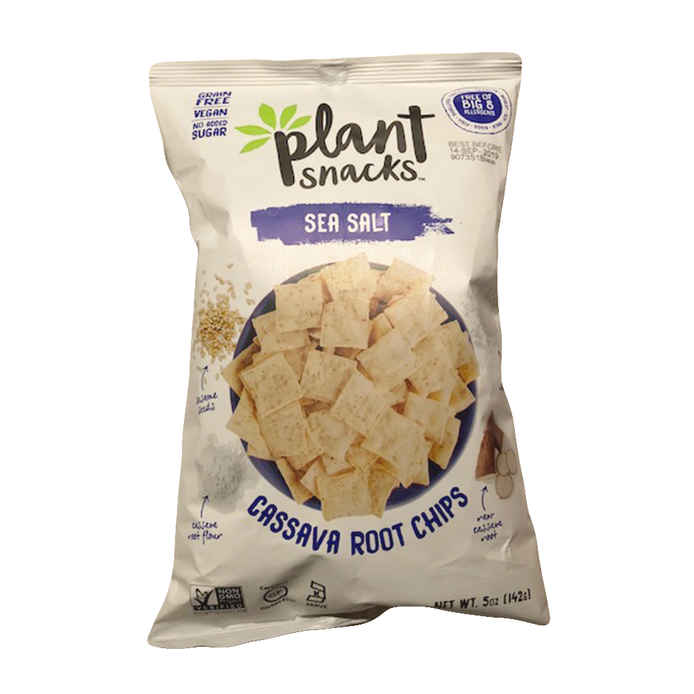 Cassava Root Chips- Sea Salt
