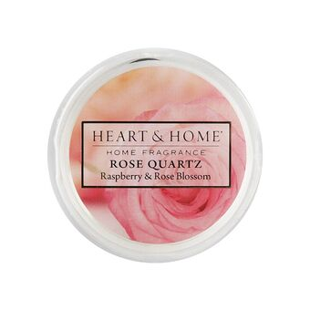 Heart and Home Rose Quartz wax melt