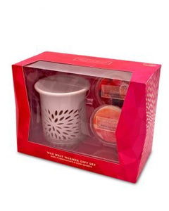 Heart and Home Oil Burner and wax soya wax melt set