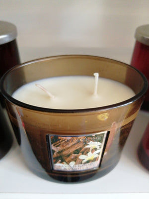 Heart and Home Sandalwood and Vanilla twin wick soya candles