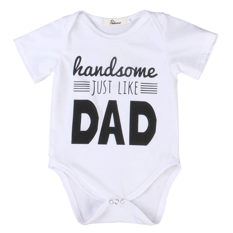 Handsome Dad / Romper