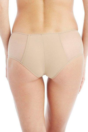 Addiction - Semi Sheer Panel Shorty