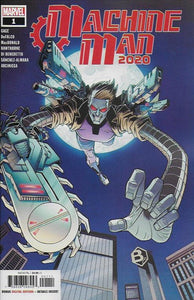 2020 Machine Man #1 (of 2) - Nick Roche Cover