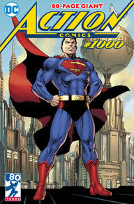 Superman Action #1000 Jim Lee Cover