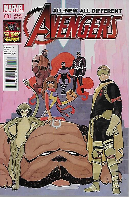 All-New All-Different Avengers #1 Cliff Chiang Cover
