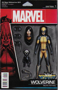 All New Wolverine #1 Action Figure Variant