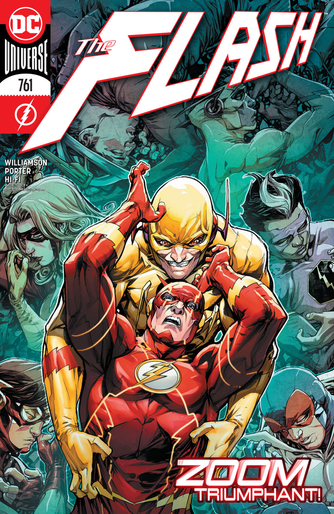 Flash #761 - Howard Porter Cover