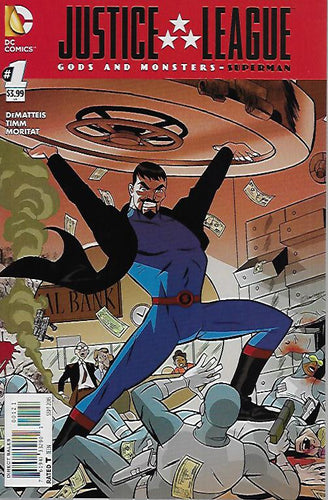 Justice League Gods and Monsters: Superman #1 Darwyn Cooke Variant