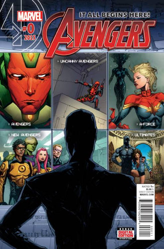 Avengers #0 (2015) - Kenneth Rocafort Cover
