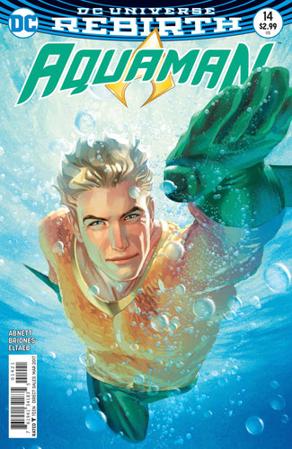 Aquaman #14 (2016) - Joshua Middleton Cover
