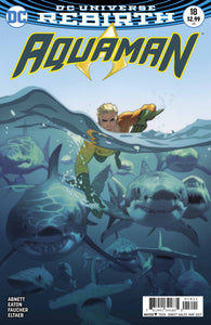 Aquaman #18 (2016) - Joshua Middleton Cover
