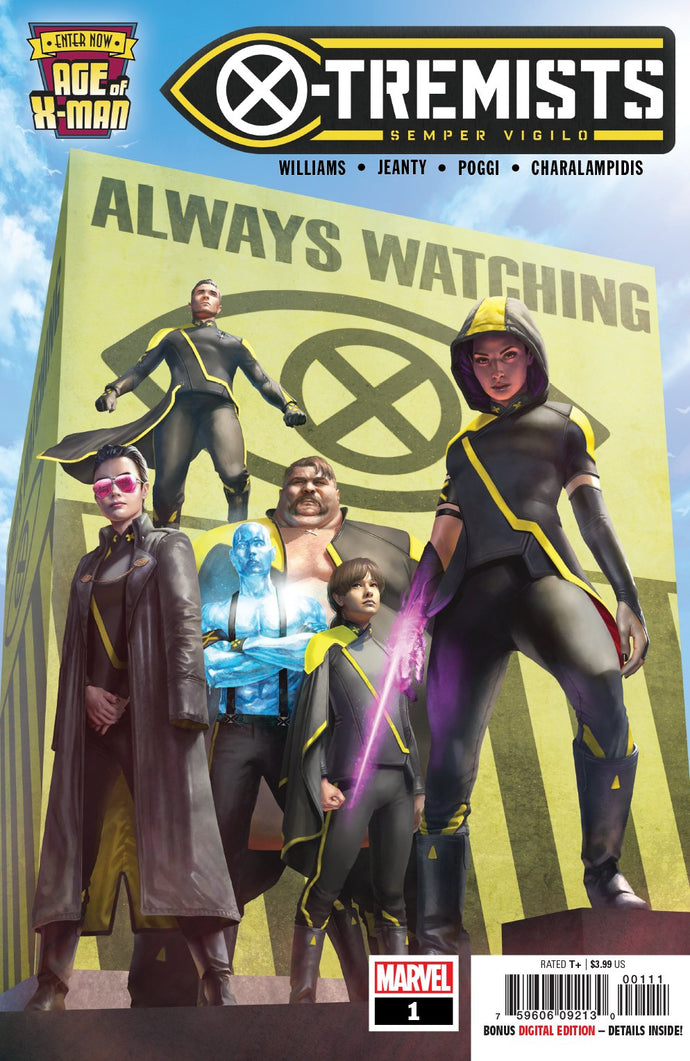 Age of X-Man X-Tremists #1 of 5 (2019)
