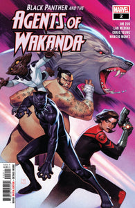 Black Panther and Agents of Wakanda #2 - Jorge Molina Cover