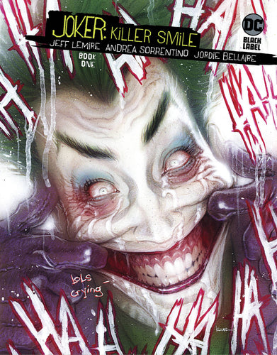 Joker Killer Smile #1 (of 3) - Kaare Andrews Cover