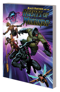 Black Panther Agents of Wakanda TP Vol 1 Eye of the Storm