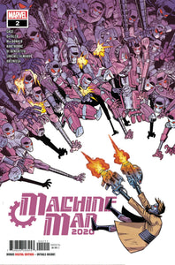 2020 Machine Man #2 - Nick Roche Cover