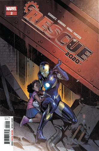 2020 Rescue #2 (of 2) - Paco Medina Cover