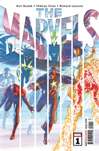 Marvels #1 - Alex Ross Cover