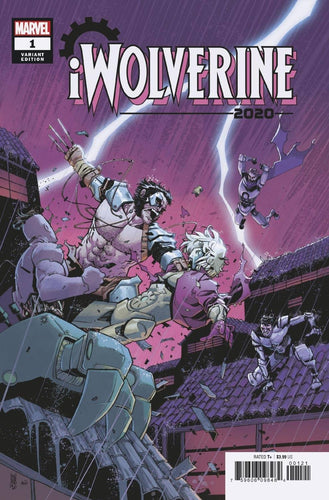 2020 IWolverine #1 (of 2) - Mike Henderson Cover