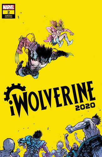 2020 IWolverine #2 (of 2) - Daniel Warren Johnson Cover