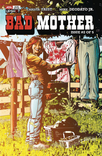 Bad Mother #2 - Mike Deodato Cover
