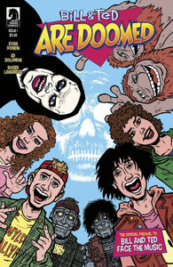 Bill & Ted Are Doomed #1 (of 4) - Evan Dorkin Cover