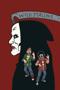 Bill & Ted Are Doomed #2 (of 4) - Evan Dorkin Cover