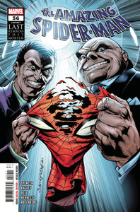 Amazing Spider-Man #56 - Mark Bagley Cover