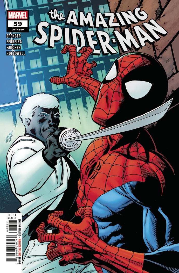 Amazing Spider-Man #59 - Mark Bagley Cover