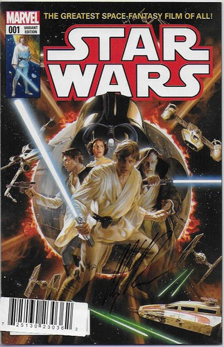 Star Wars #1 1/100 Variant Alex Ross Signed