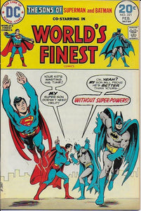 World's Finest #221 VG/Fine/7.0
