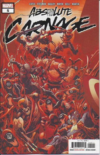 Absolute Carnage #5 (of 5) - Ryan Stegman cover