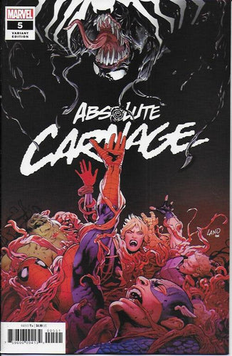 Absolute Carnage #5 (of 5) - Greg Land cover