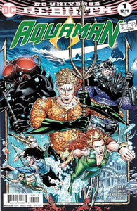 Aquaman #1 2nd Printing (2016) - Brad Walker, Andrew Hennessy Cover