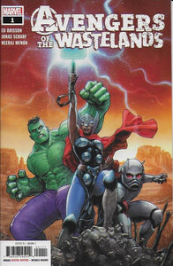Avengers of the Wastelands #1 (of 5) - Juan Jose Ryp Cover