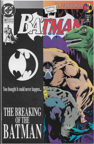 Batman #497 - Knightfall Part Eleven