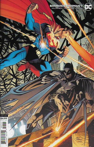 Batman Superman #7 - Andy Kubert Cover