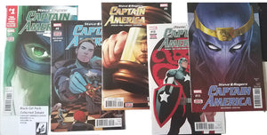 Black Cat Pack Captain America Steve Rogers #7-12, Vol 2
