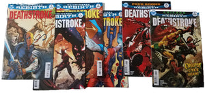 Black Cat Pack Deathstroke Rebirth #6 - 11, same as Vol 2 TP