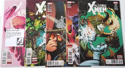 Black Cat Pack All New X-Men #12 - 16, same as Vol 3 TP