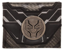 Black Panther Black Bi-Fold Wallet