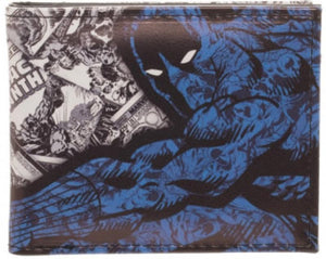 Black Panther Blue Bi-Fold Wallet