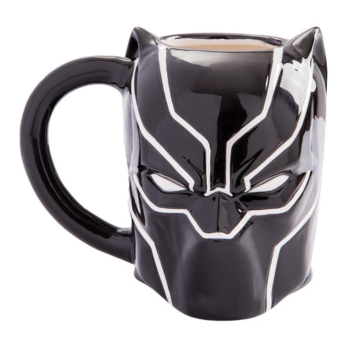 Black Panther 20 oz. Sculpted Ceramic Mug