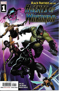 Black Panther and Agents of Wakanda #1 - Jorge Molina Cover