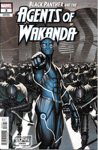 Black Panther and Agents of Wakanda #3 - Rock-He Kim Cover