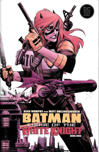 Batman Curse of the White Knight #4 (of 8) - Sean Murphy cover