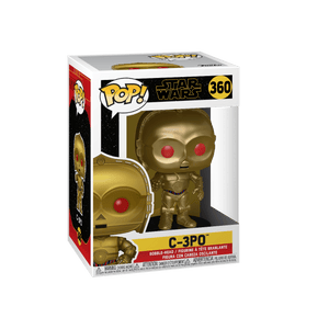 C-3P0 Gold Metallic with Red Eyes Funko Pop!