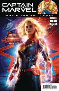 Captain Marvel #3 (2019) - Movie variant cover