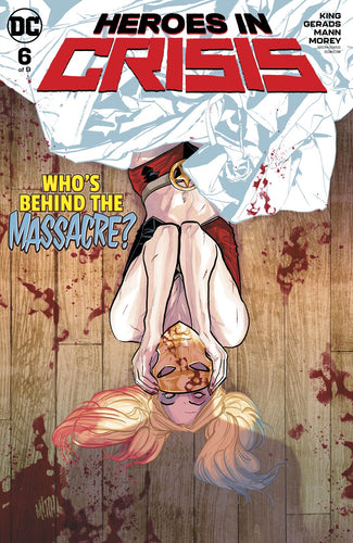 Heroes in Crisis #6 Regular Cover