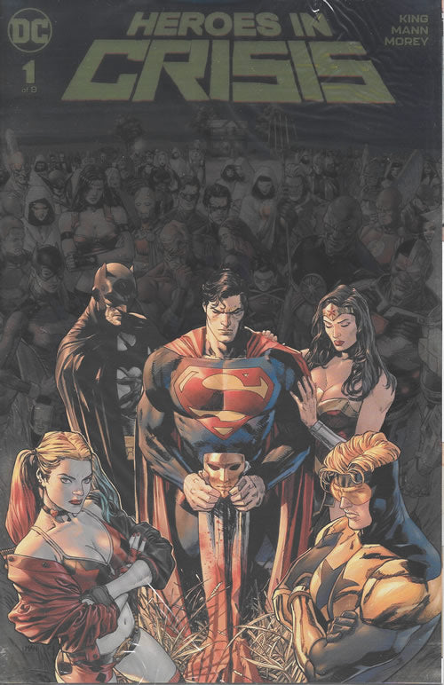 Heroes in Crisis #1 - Rare Gold Foil Cover from New York Comic Con
